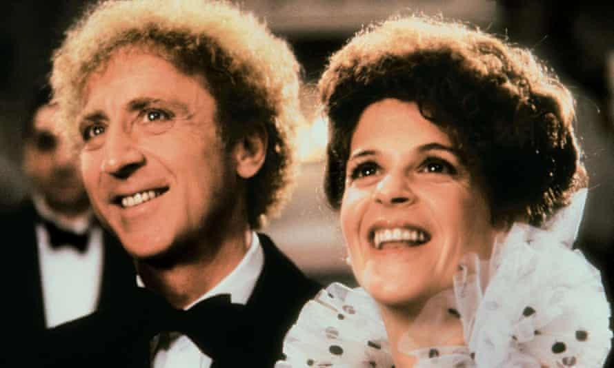 Gene Wilder and Gilda Radner in Haunted Honeymoon, 1986.