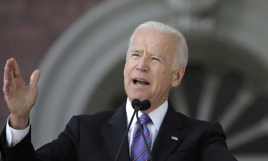 Joe Biden said he should not have said what he said.