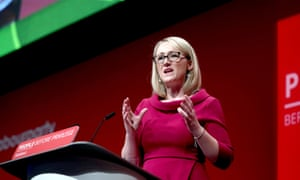 Shadow business secretary Rebecca Long-Bailey is one of the most senior party figures backing the 2030 target.
