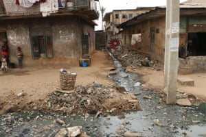 Onitsha, Nigeria, the world's most polluted city according to the World Health Organisation. For cities: air pollution