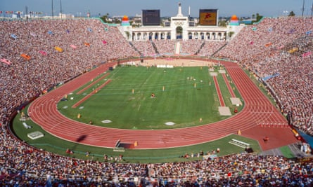 Los Angeles last hosted the Olympics in 1984