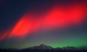 A red aurora is a real and spectacular scientific phenomenon, and one steeped in mythology