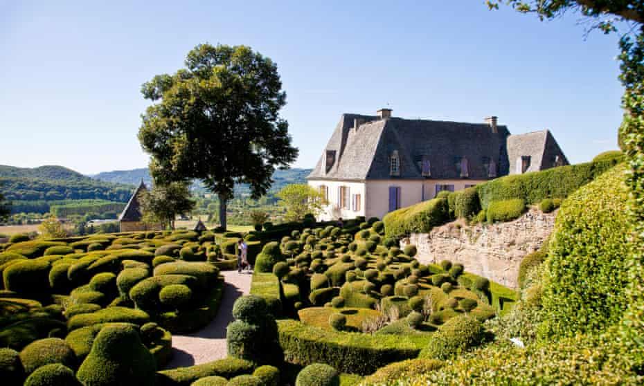 Jardins Suspendus at Marqueyssac.