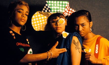 Tionne 'T-Boz' Watkins, Lisa 'Left-Eye' Lopes and Rozonda 'Chilli' Thomas in the Netherlands in 1992.