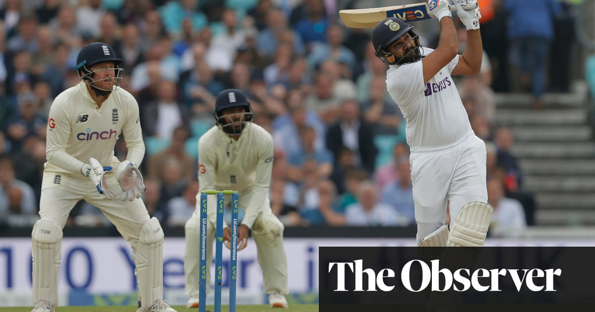 India turn the tide in fourth Test as Rohit century frustrates England