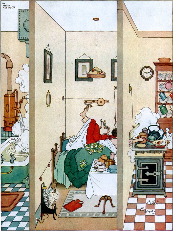 Heath Robinson: a museum fit for the cobbled-together contraption king |  Architecture | The Guardian