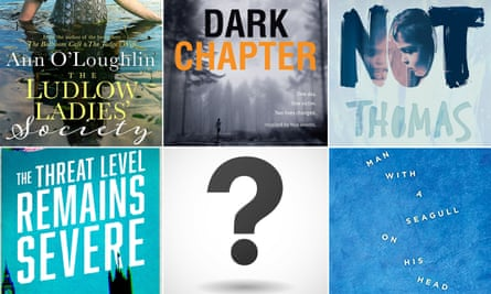 The five books – and a space for the mystery sixth...