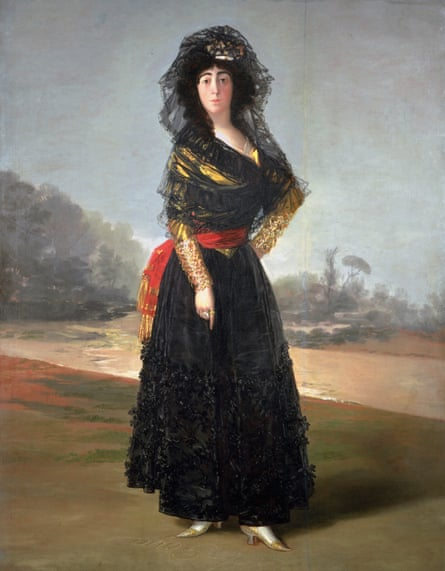 'My art reveals idealism and truth' … Goya's Portrait of the Duchess of Alba, 1797