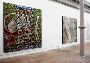 Sigmar Polke's Alice in Wonderland at Tate Liverpool, 1995.