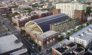 The city-owned Bedford-Union Armory building is slated for sale and redevelopment.