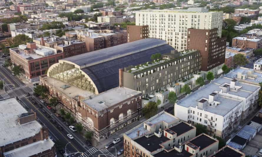 The Bedford-Union Armory in the Crown Heights neighborhood of Brooklyn.