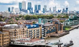 City of London panoramic view