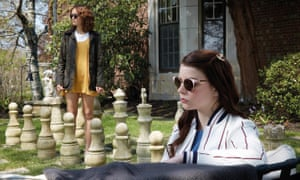 Olivia Cooke and Anya Taylor-Joy in Thoroughbreds.