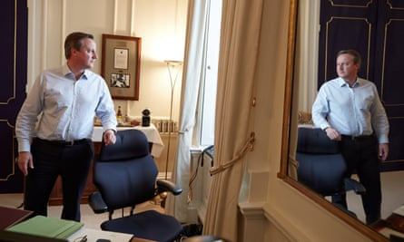 David Cameron in Downing Street