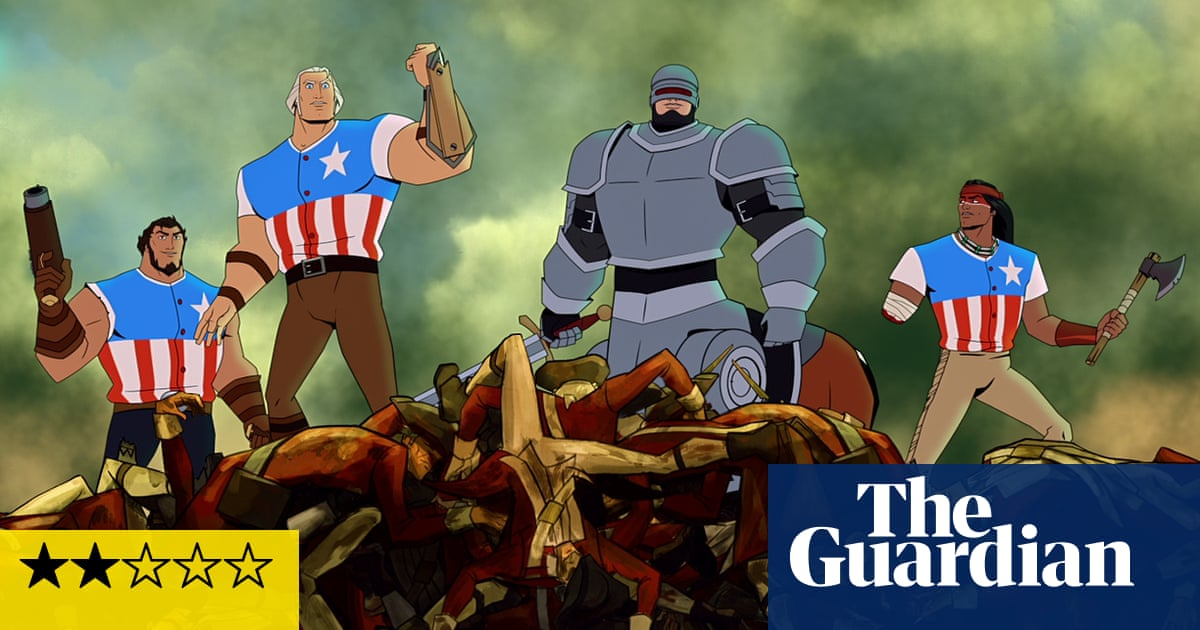 America: the Motion Picture review – puerile Netflix animation
