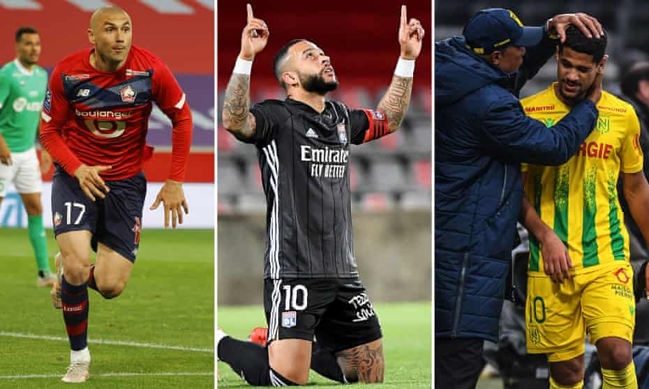 Lille, Lyon and Nantes have it all to play for on the last day of the season.