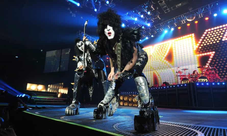 Kiss perform in Monterrey
