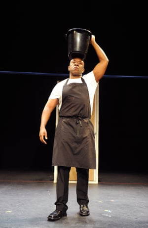 Msamati as McDonald in If You Don't Let Us Dream, We Won't Let You Sleep by Anders Lustgarten in 2013. Directed by Simon Godwin