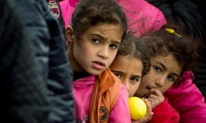Condition on the Greek islands for migrants have been called 'catastrophic'.