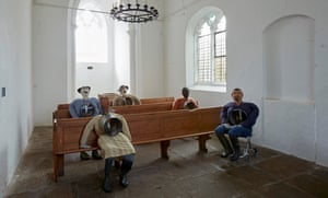 The Institute of Reconciliation, 2014-ongoing, installed at St Peter's Church as part of Murillo's Violent Amnesia show at Kettle's Yard, Cambridge