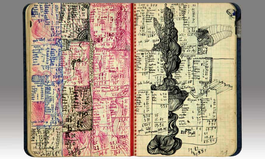 Pages from Salvador Dalí's unpublished diary