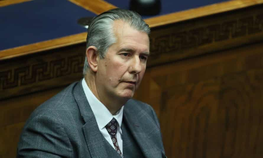 Edwin Poots in the Stormont assembly
