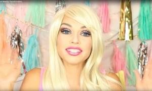 Barbie girl … Kandee Johnson.