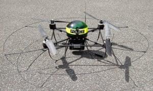 Merseyside Police drones used in arrest