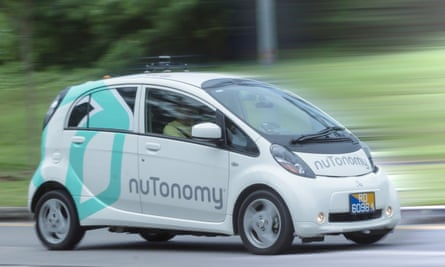 Nutonomy's trial will be used to gather data about customer journeys - and how passengers feel about being driven by software