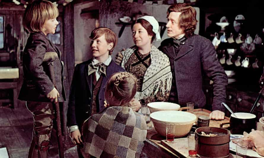 The Cratchit family in Scrooge (1970)
