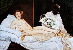 Emile Zola was an early champion of Edouard Manet, painter of Olympia