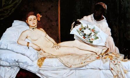 Edouard Manet's painting Olympia.