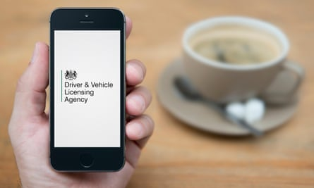 Try to ring the DVLA but it is engaged for hours on end.