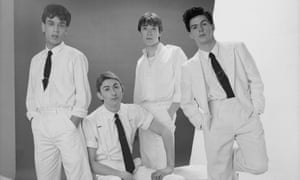 'He was a genius' ... (L-R) keyboard player Simon Brenner, singer Mark Hollis, drummer Lee Harris and bassist Paul Webb.