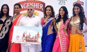 Indian businessman Vijay Mallya's