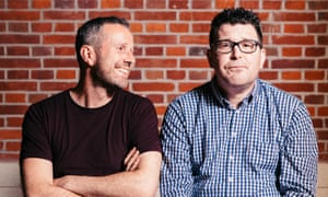 Max Rushden and Barry Glendenning