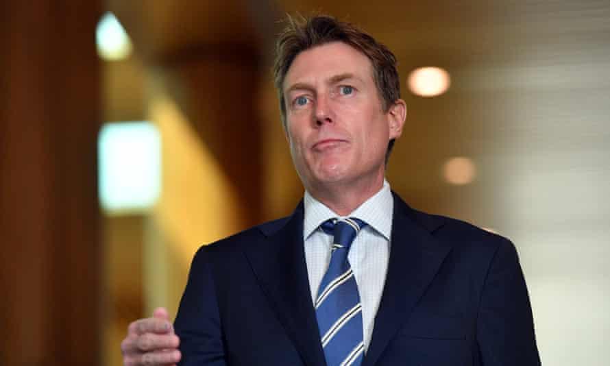 Australia's industrial relations minister Christian Porter