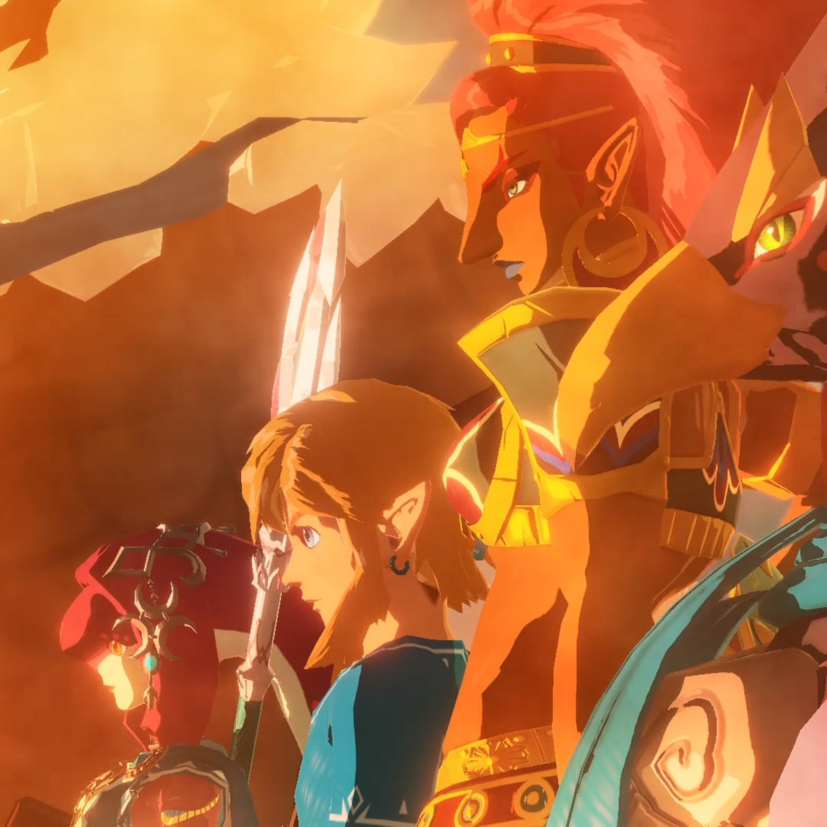Hyrule Warriors Age Of Calamity Review A Blast In The Past Games The Guardian