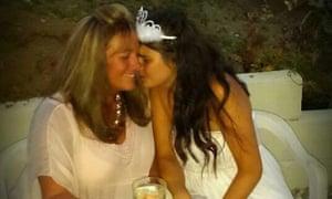 Sally Retallack with Elisa Bianco