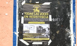 A poster for the resistance group