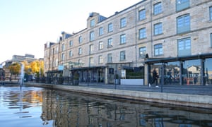 In the rejuvenated Shore area of Leith, old warehouses have been converted into restaurants, including Michelin-starred The Kitchin.