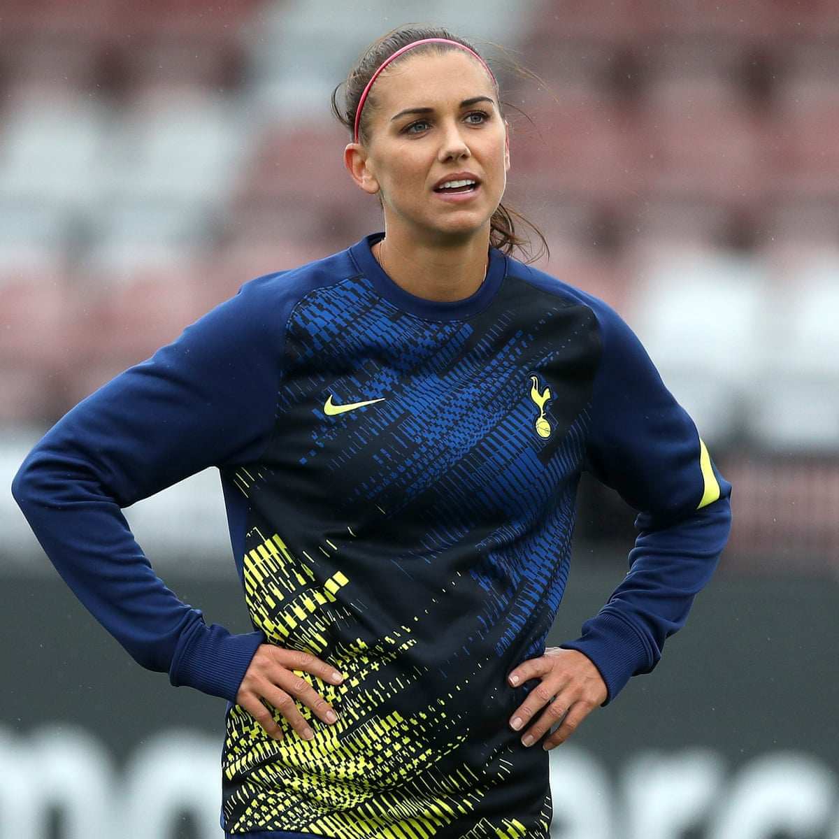 Tottenham S Alex Morgan My Touch I M Still Waiting For It To Come Back Football The Guardian