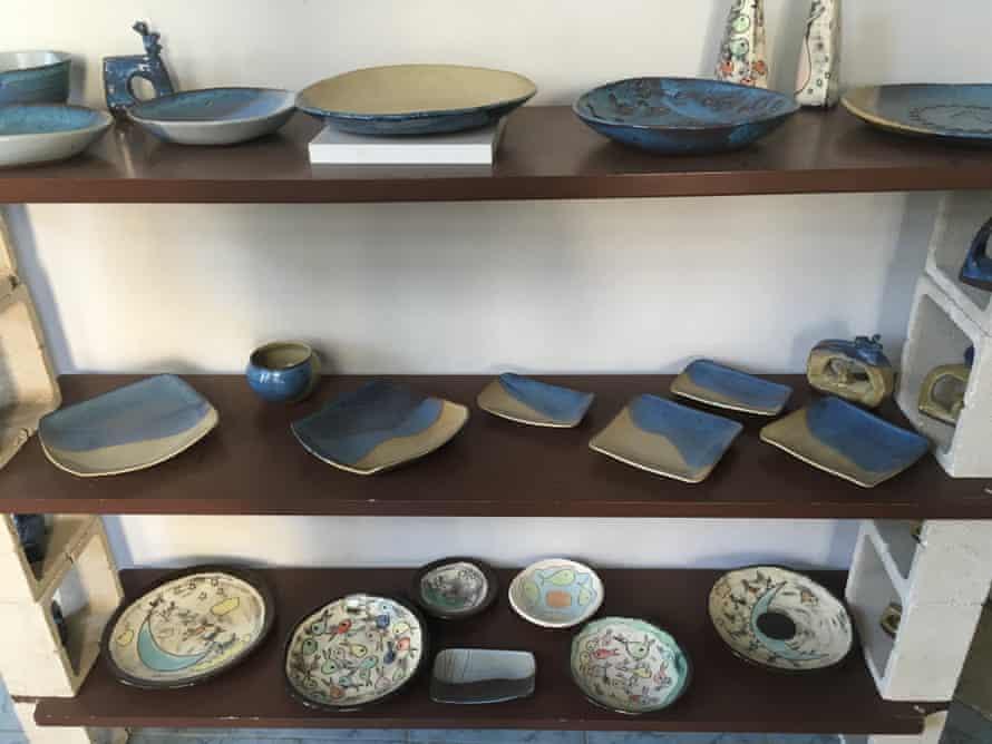 Nicole Bersuder and Imad Baalbaki pottery studio/gallery, Beirut