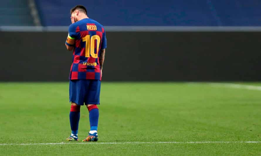 It's hard to imagine Messi in another club kit, but will that be the case soon?