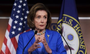 House speaker Nancy Pelosi. The House returned early from recess to pass the bill.