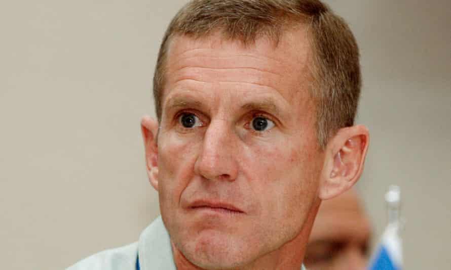 Gen Stanley McChrystal in 2009.