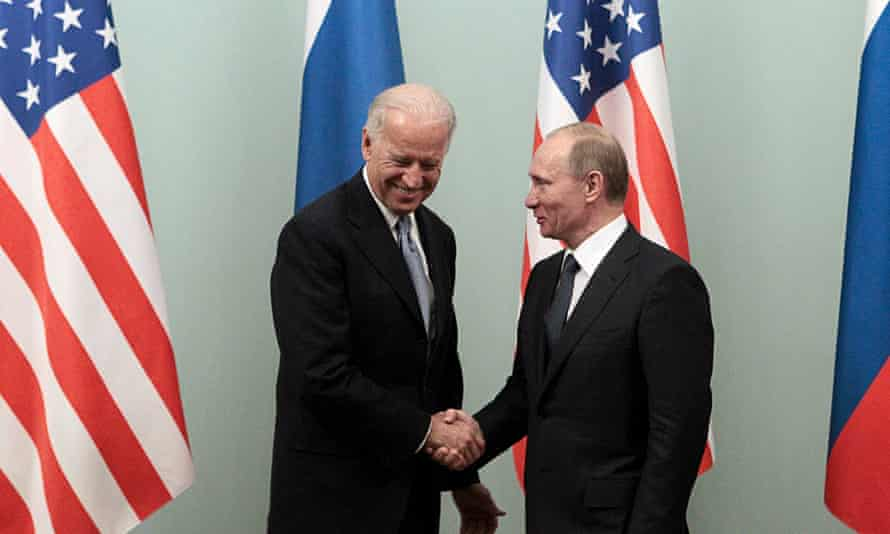 'A pain and a problem': Vladimir Putin and Joe Biden in Moscow, March 2011
