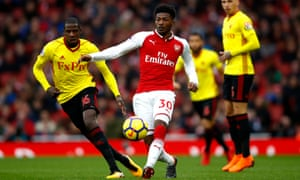 Ainsley Maitland-Niles has said he received racial abuse from the crowd during youth matches.