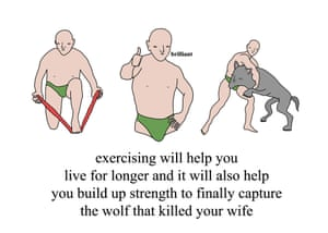 Exercise wolf