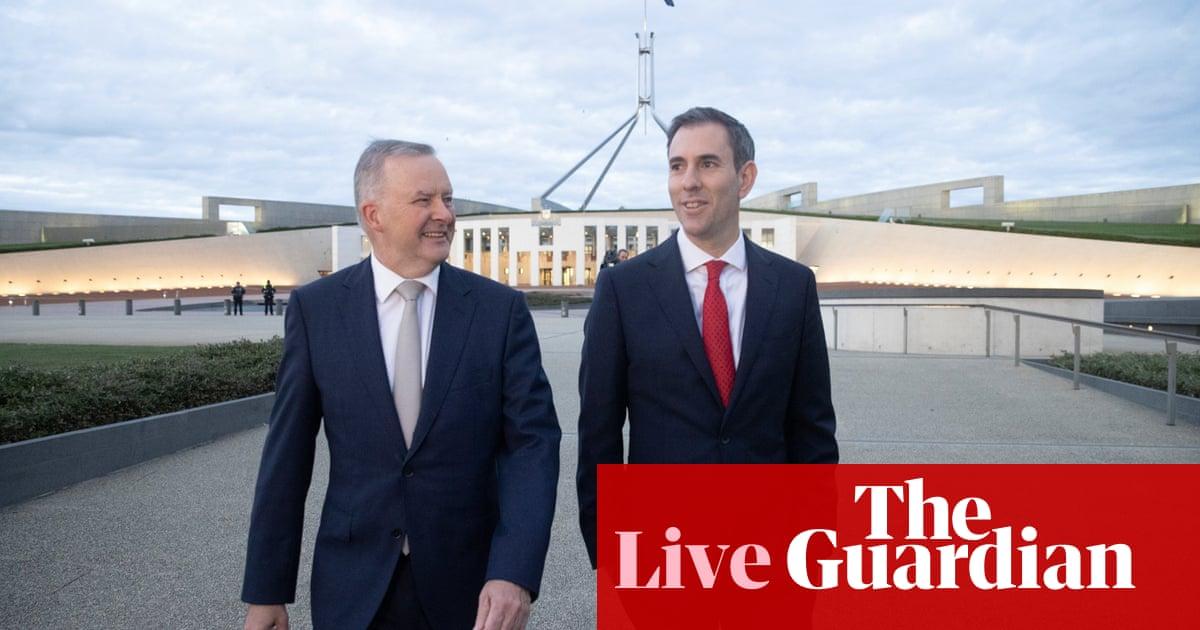 Australia politics live: Labor prepares for budget reply, confusion over Covid vaccination targets